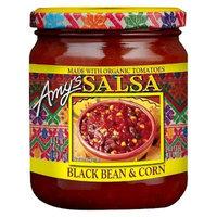 Amy's Organic Salsa, Fat Free Tomato, Black Bean & Corn, 14.7 Ounce [Black Bean & Corn]