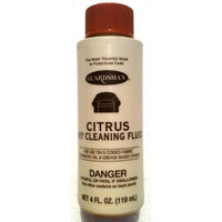 Citrus GUARDSMAN Fabric, Carpet & Upolstery DRY CLEANING Fluid OIL & GREASE STAIN REMOVER 4 oz. (Pack of 2)