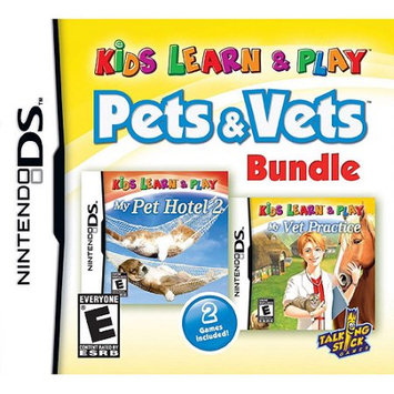 Talking Stick Games NinDS - Kids Learn and Play: Pets and Vets Bundle