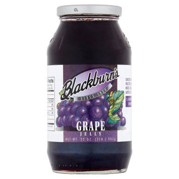 T.j. Blackburn Syrup Works, Inc. Blackburn's Grape Jelly, 32 oz