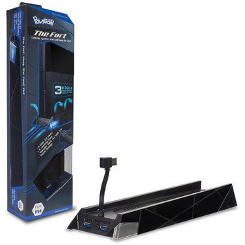 Polygon HYPERKIN PS4 Vertical Cooling Stand M07078, Black