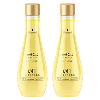 BC Bonacure OIL MIRACLE Light Oil Treatment, 3.38-Ounce (2-Pack)