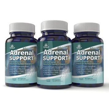 Totally Products Advanced Adrenal Support (60 capsules) - 3 bottles (Pack of 2)