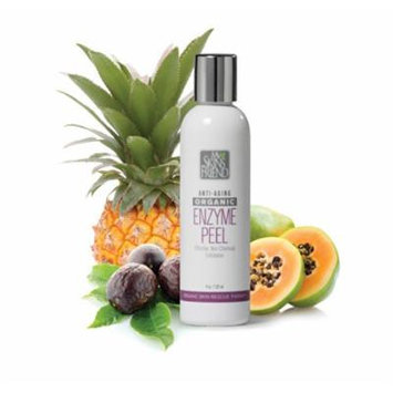 Organic Facial Peel Helps Diminish Acne Scars Blackheads Age Spots Lines and Wrinkles Without Outbreaks or Irritations Like Acid Based Peels - For All Skin Types.
