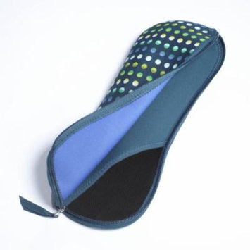 BUILT Flat Iron/curling Iron Case, Emerald Dot