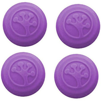 Innovative Gaming Grip-iT Analog Stick Covers for Xbox 360, Xbox One, PS3 and PS4, 4 Pack, Purple