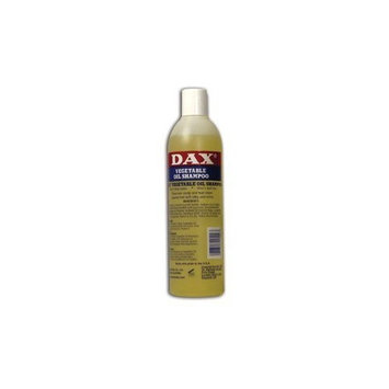 DAX Shampoo Vegetable OIL 12 Oz Gentle Formula (Case of 6)