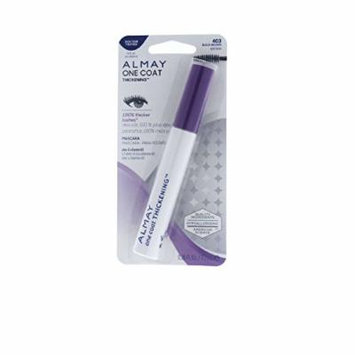 Almay One Coat Thickening Mascara, Black Brown [403], 0.26 FL oz ( Pack of 2 )