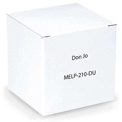 Don-jo Don Jo MELP-210-DU Strike Protector, Mortise & Electronic Strike Duronotic