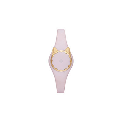 kate spade new york Women's Ballet Slipper Polyurethane Strap Cat Activity Tracker 26mm KSA31211