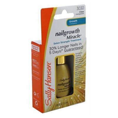 Sally Hansen Nailgrowth Clear Miracle Treatment 0.45 Ounce (13ml) (3 Pack)