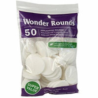 Wonder Rounds 50 Count Cosmetic Puff (3 Pack)