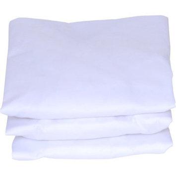 J. Lamb Set of 3 Bassinet Sheets, White
