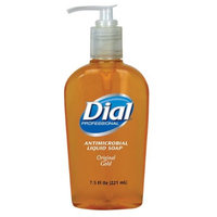 Dial 2340084014 CPC 7.5 oz Antimicrobial Liquid Hand Soap Gold - Case of 12