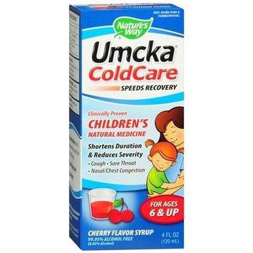 Natures Nature's Way Umcka Coldcare Children's Syrup, Cherry 4 fl oz