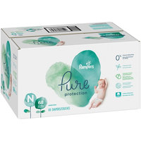 Pampers Pure Protection Diapers, Size Newborn, 68 Diapers