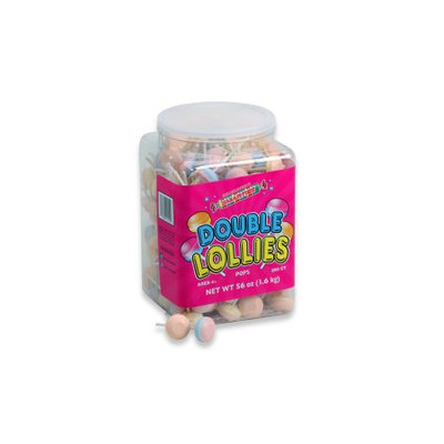 Smarties Double Lollies, 200 Pieces, 56-Oz Tub