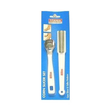 Titania Corn Slicer & Callous Reducer Set [1]