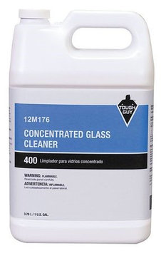 TOUGH GUY 12M176 Glass Cleaner,1 gal, Blue