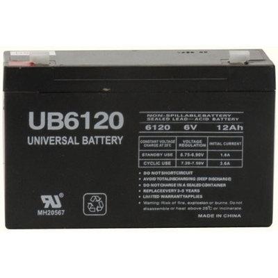 National Battery C18A (RB6100) 6V 10AH