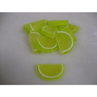 Cavalier Candies Fruit Slices Key Lime flavor jelly candy 2 pounds