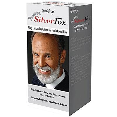 Godefroy Silver Fox Gray Enhancing Crème For Men's Facial Hair 3 oz