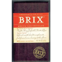 Brix Chocolate Bar, Medium Dark, 8 Ounce [Medium Dark]