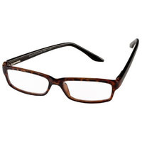 Select-A-Vision Milano Collection Reader, Classic Reading Glasses, Brown, 1.00