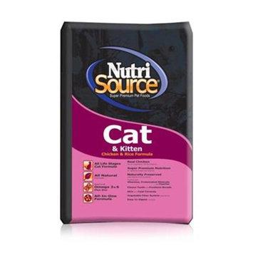 Tuffies Pet Nutrisource Cat/Kitten Chicken/Rice Dry Cat Food