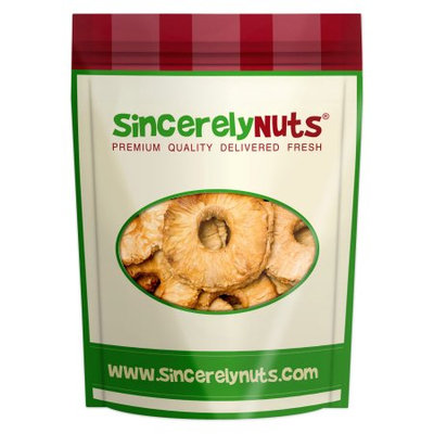 Sincerely Nuts Natural Dried Pineapple, No Sugar, 1 Lb