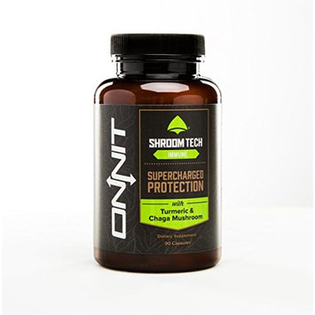 Onnit Shroom Tech Immune: Daily Immune Support Supplement with Chaga Mushroom (90ct)