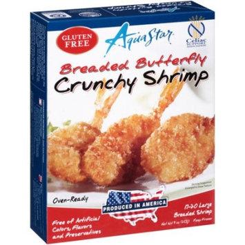 Aqua Star Breaded Butterfly Crunchy Shrimp, 9 oz