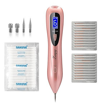 Zenpy Skin Tag Remover Pen Professional Removal Tool Kit 6 Strength Levels Beauty Pen for Body Facial Freckle Nevus Warts Age Spot Skin Tag Tattoo Remover with LCD Display