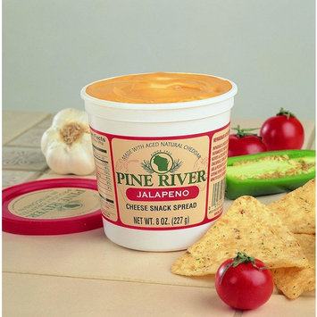 Pine River Jalapeno Cheese Spread (3-8oz Tubs) Shelf Stable