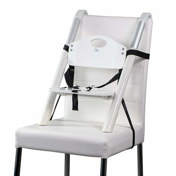 Booster Seat – Svan Lyft High Chair Booster Seat - Adjusts Easily to Most Chairs - White (18 Mo to 5 Yrs)