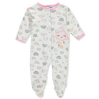 Baby Girls' Footed Coverall