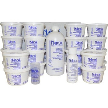 Nairobi Conditioning Sensitive Scalp Hair Relaxer Kit, 20 Count