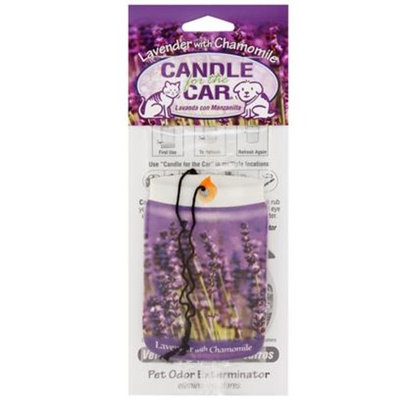 Candle for the Car [Options : Clothesline Fresh]