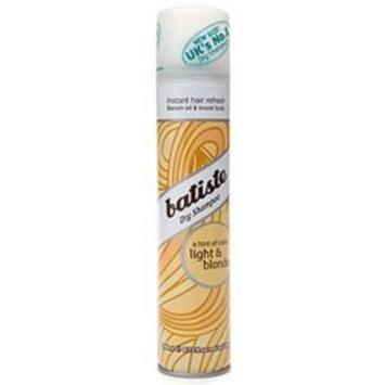 Batiste Dry Shampoo Hint Of Color, Brilliant Blonde - 6.73 Oz (pack of 1)