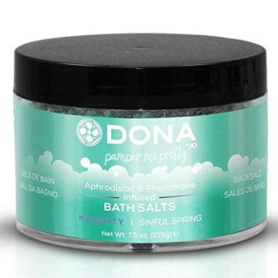 Dona Bath Salts Naughty - Sinful Spring Net Wt 7.5 Oz / 215 G