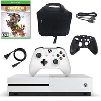 Xbox One S 500GB Console with Rare Replay, Silicone Sleev and Console Bag