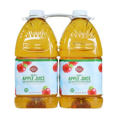 Wellsley Farms Organic Apple Juice, 2 pk./96 oz.