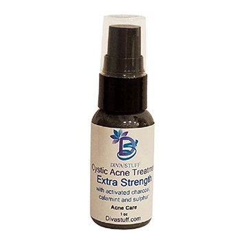 Cystic Acne Spot Treatment for Moderate to Severe Acne, Fast Acting Formula Reduces Inflammation and Dries Out the Blemish Quickly, By Diva Stuff