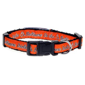 Baltimore Orioles Nylon Dog Collar