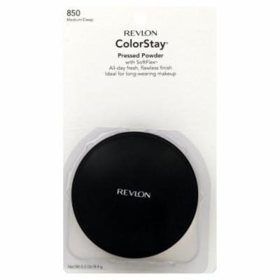Revlon ColorStay Pressed Powder With SoftFlex Medium/Deep (2-Pack)