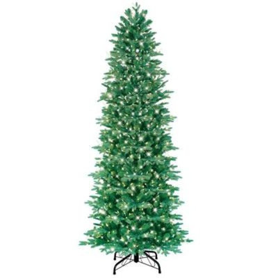 GE 7.5 ft. Just Cut Aspen Fir Artificial Christmas Tree with 800 Clear Lights