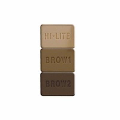 MILANI Brow Fix Eye Brow Powder Kit - Light (Pack of 3)