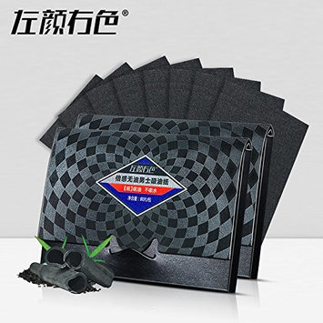 3pcs Men Bamboo Charcoal Facial Absorbent Paper Farewell Oil facial tissue Clean black paper Beauty Products 240 sheet