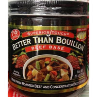 2 x 16oz Better Than Bouillon BEEF BASE Superior Touch Broth Made from Roasted Beef & Concentrated Beef Stock