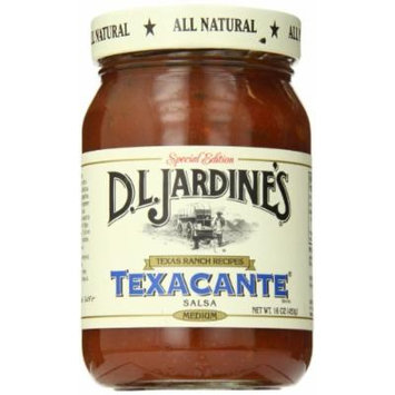 D.L. Jardine's Texacante Salsa, Medium, 16 Ounce (Pack of 6)